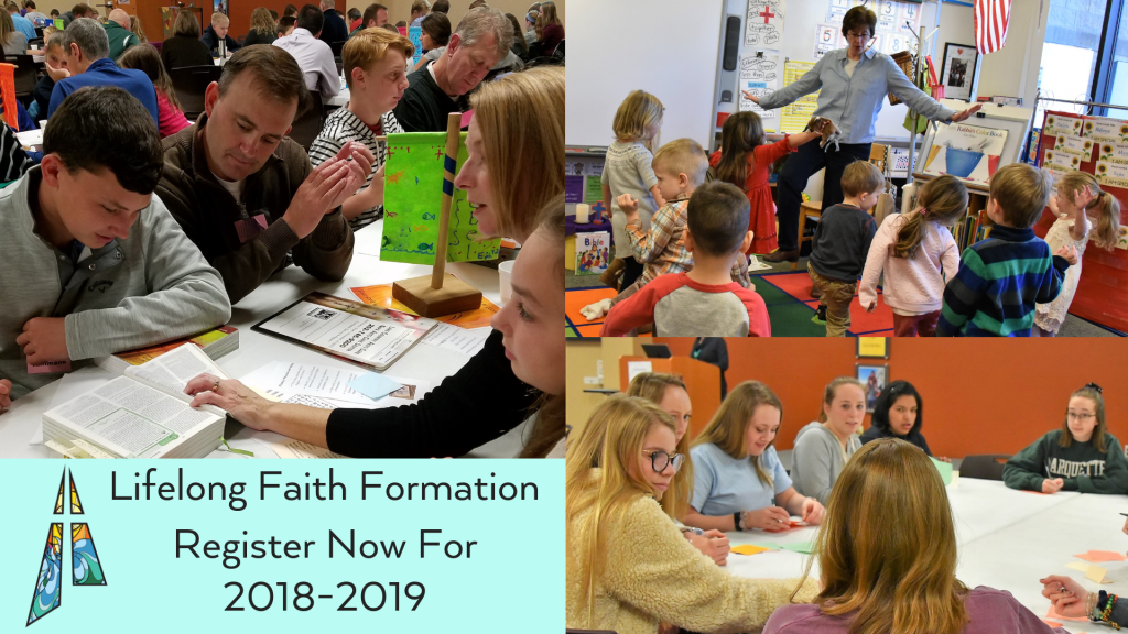 Faith Formation Programs at St. Anthony on the Lake