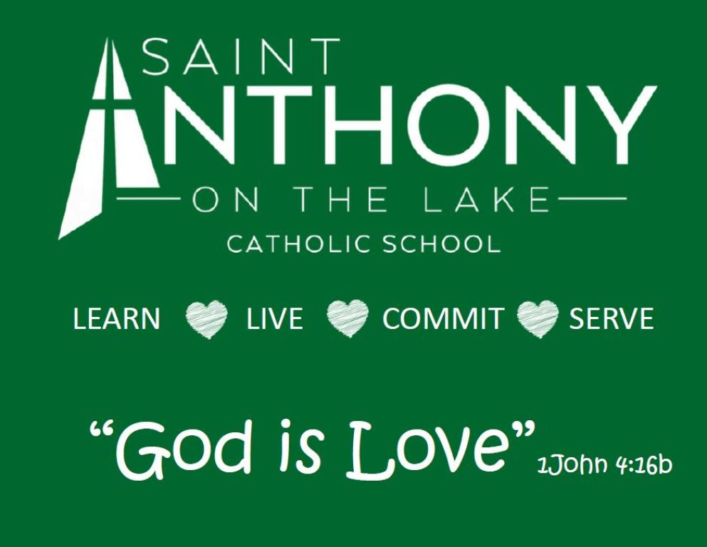 "St. Anthony on the Lake School ""Growing in God's Love"""