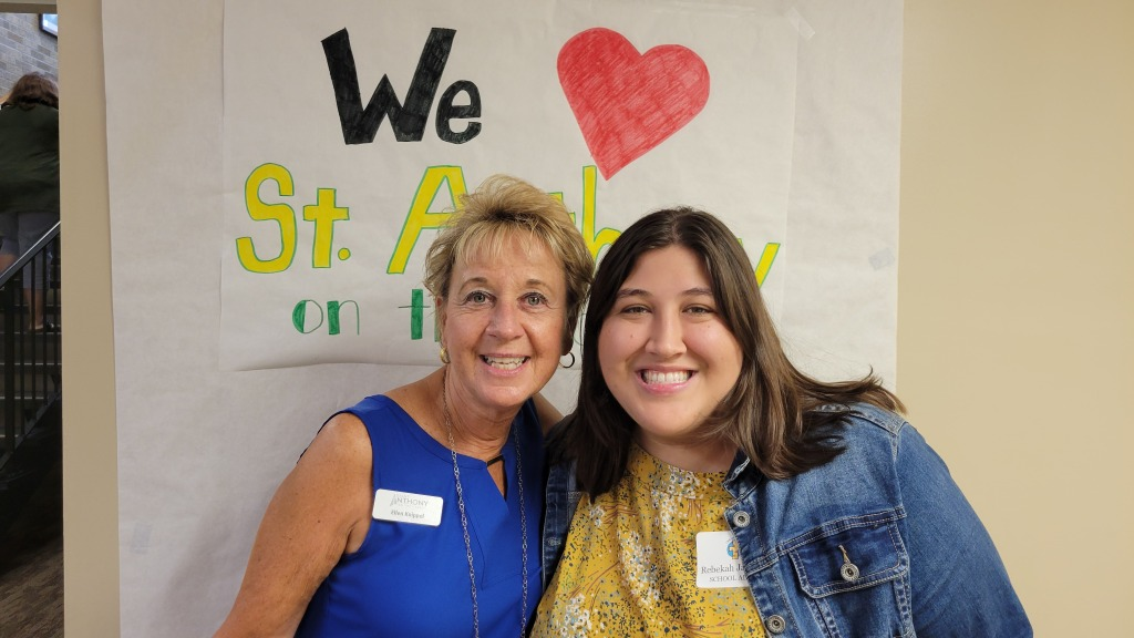 Mrs. Knippel and Mrs. Jacunski