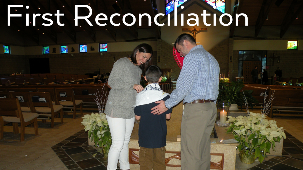 First Reconciliation at St. Anthony on the Lake
