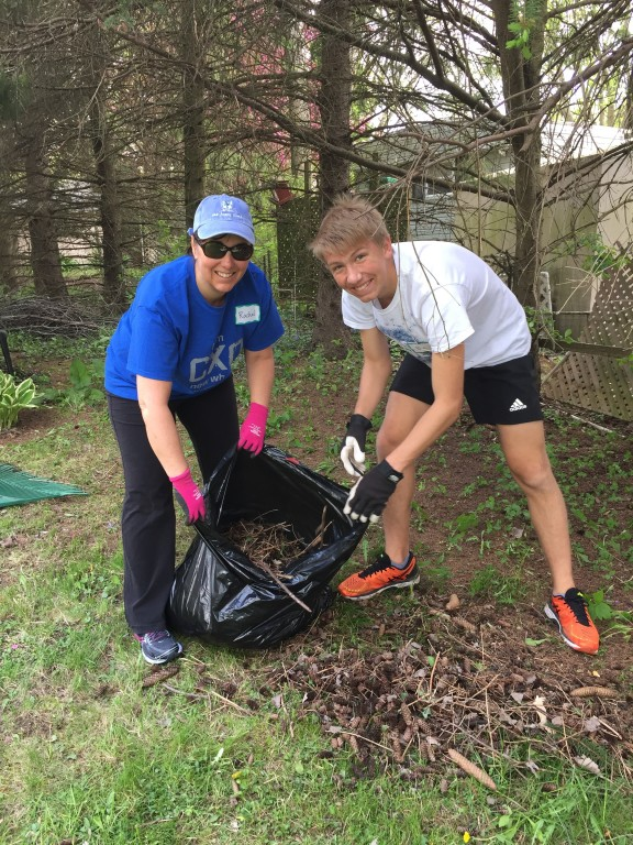 Spring Yard Cleanup at St. Anthony on the Lake