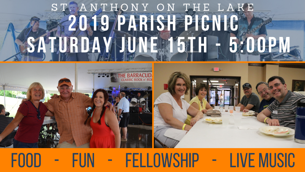 St. Anthony on the Lake Parish Picnic 2019