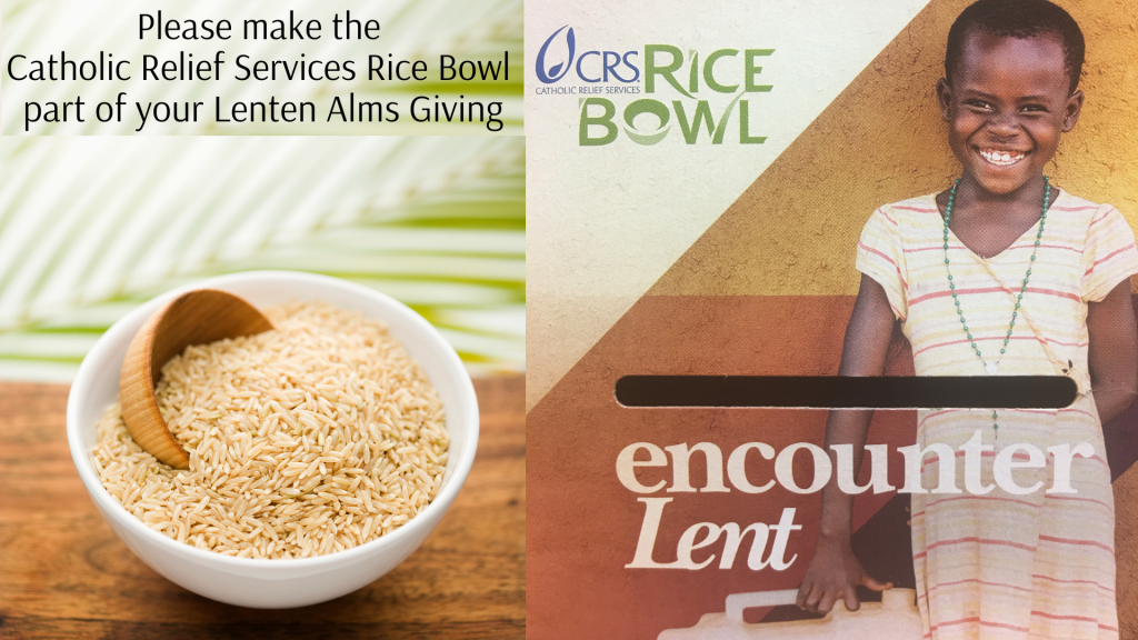 Catholic Relief Services Rice Bowl