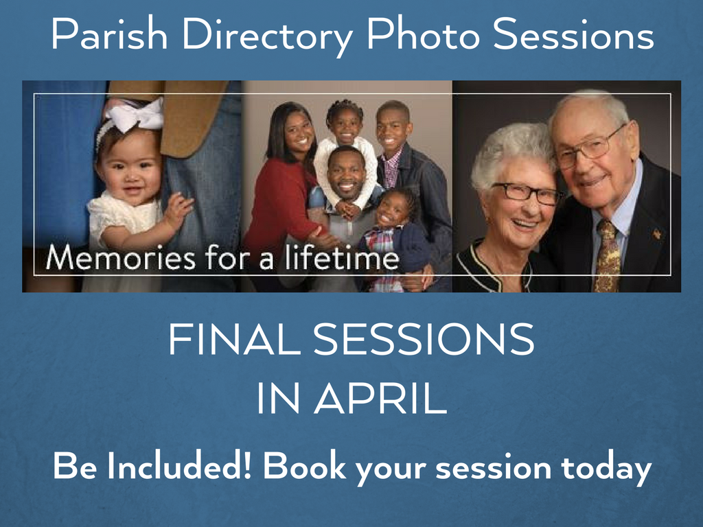 Book Your Parish Directory Photo