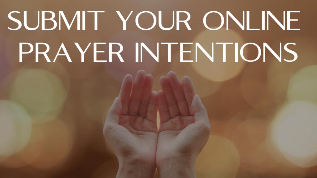 Online Prayer Intentions