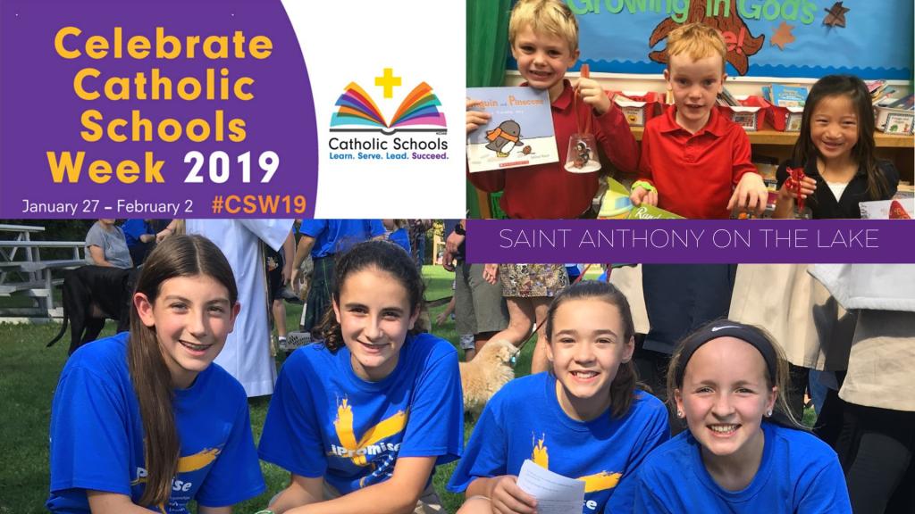 Catholic Schools Week at St. Anthony on the Lake
