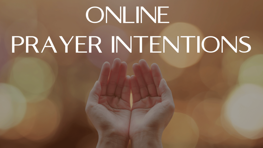 Online Prayer Intentions at St. Anthony on the Lake