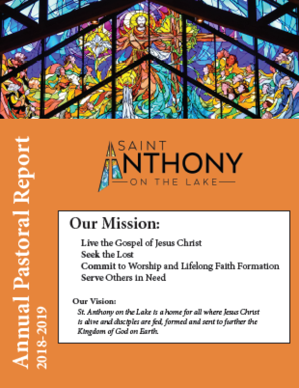 Annual Report St. Anthony on the Lake