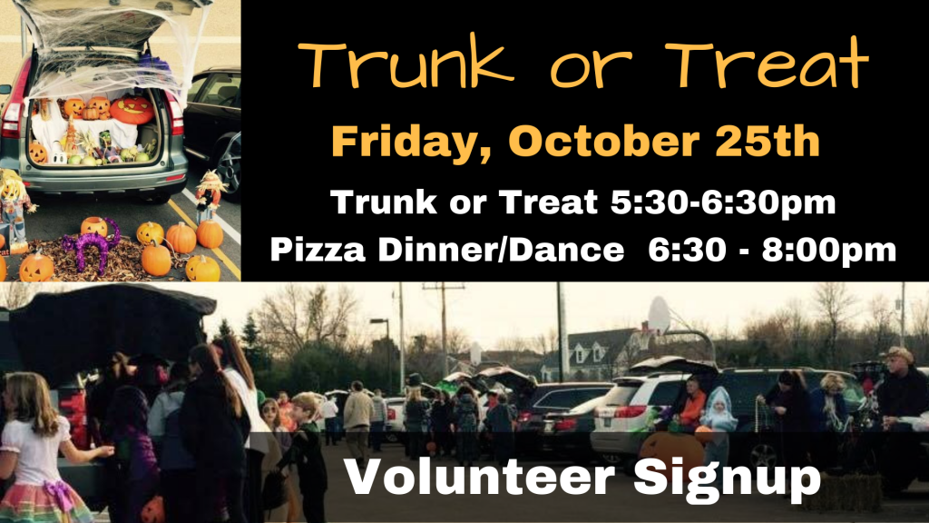 Trunk or Treat St. Anthony on the Lake