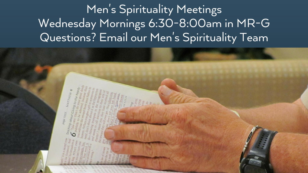 Men's Spirituality at St. Anthony on the Lake