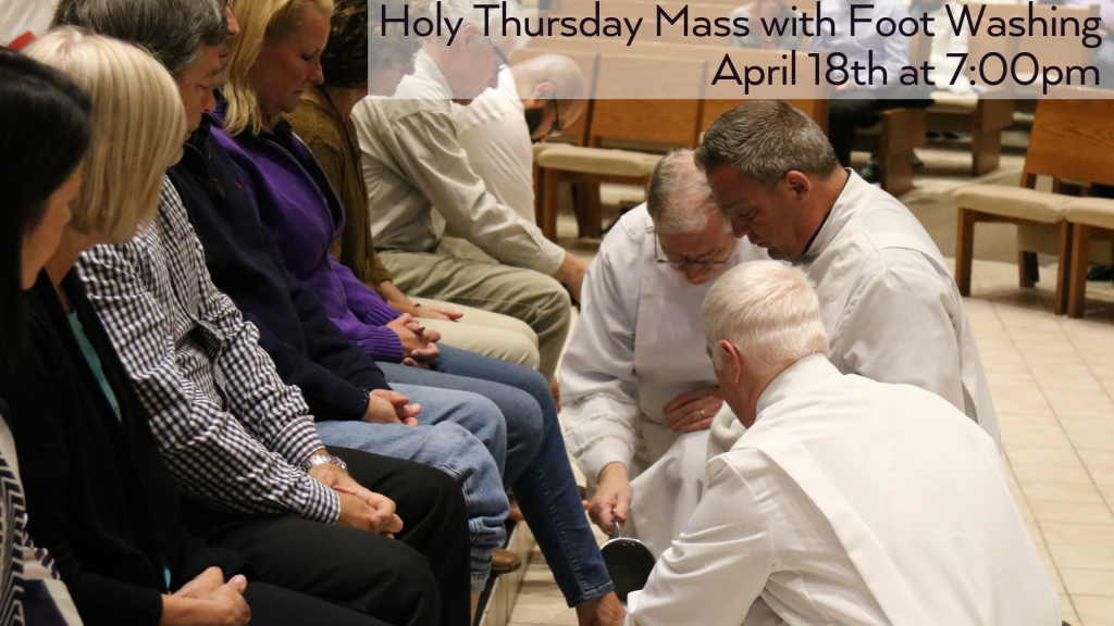 Holy Thursday at St. Anthony on the Lake
