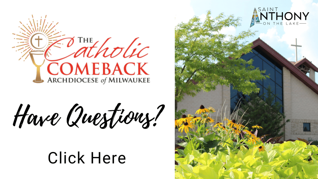 Catholic Comeback Frequently Asked Questions