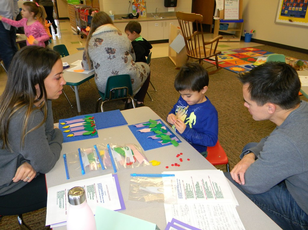 Learning Centers during LaPetite Family Program