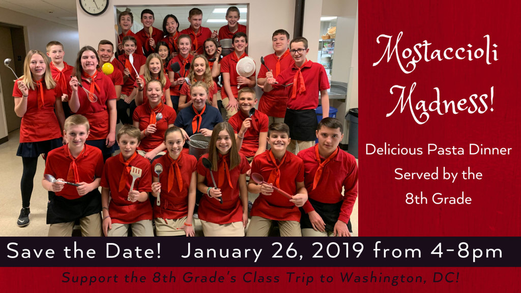 Mostaccioli Madness at St. Anthony on the Lake!
