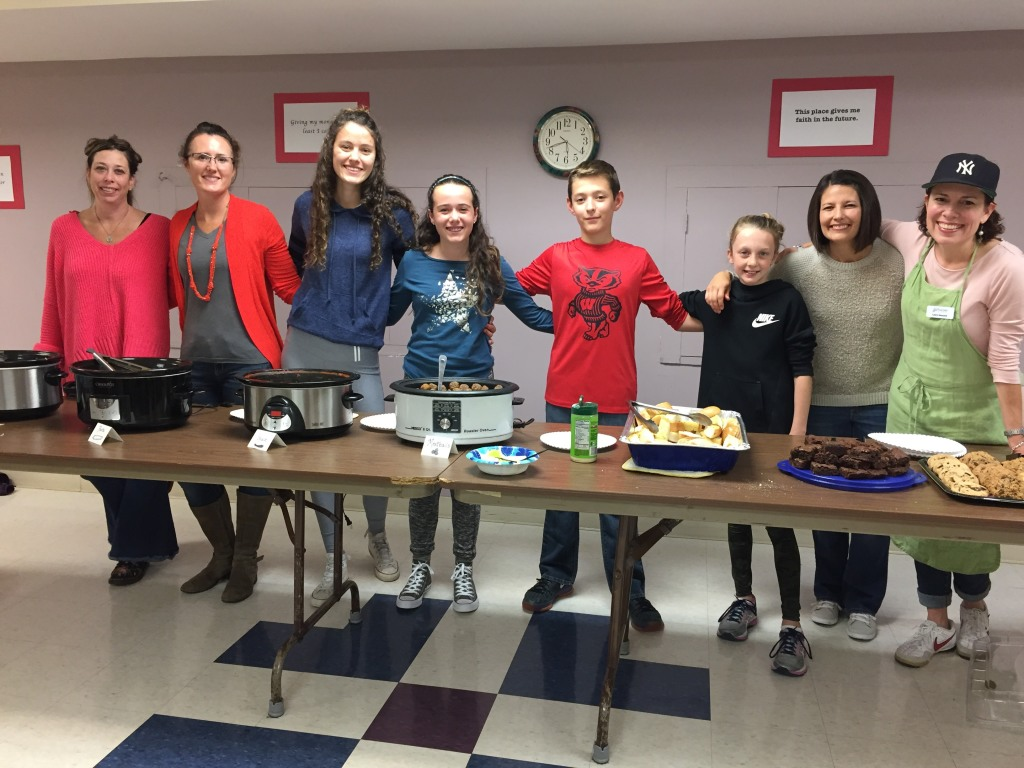 Healing Hearts Meal FaithWorks at St. Anthony on the Lake