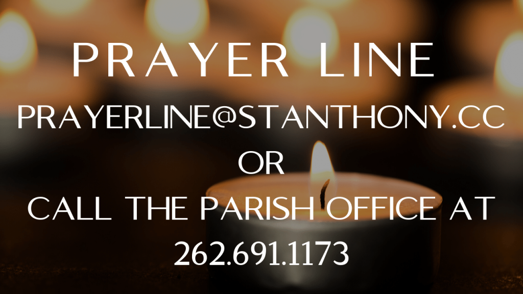 Prayer Line at St. Anthony on the Lake