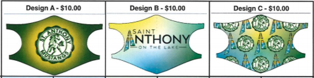 Mask Order Form St. Anthony on the Lake