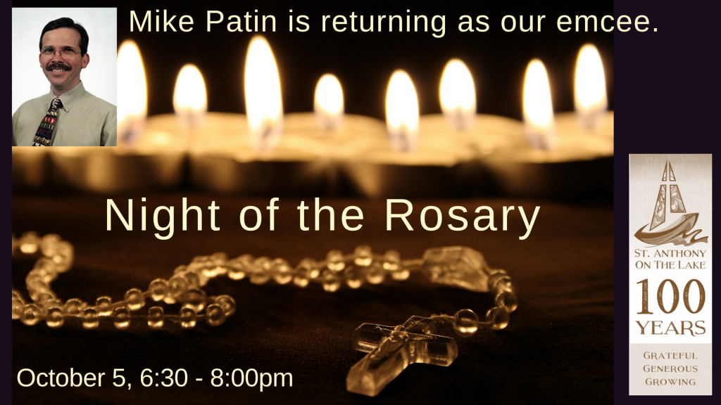 Night of the Rosary at St. Anthony on the Lake