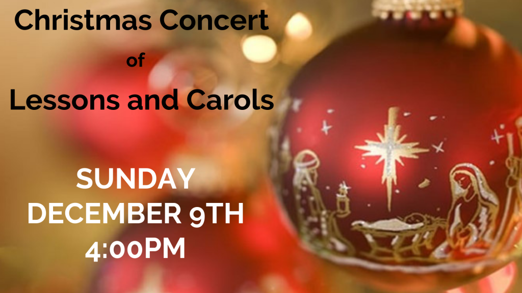 Lessons and Carols at St. Anthony on the Lake