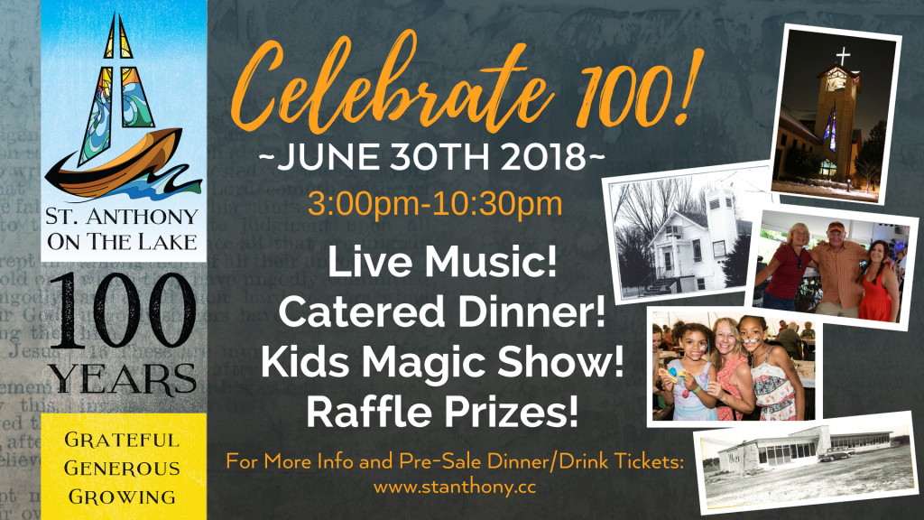 Join us for our Centennial Celebration