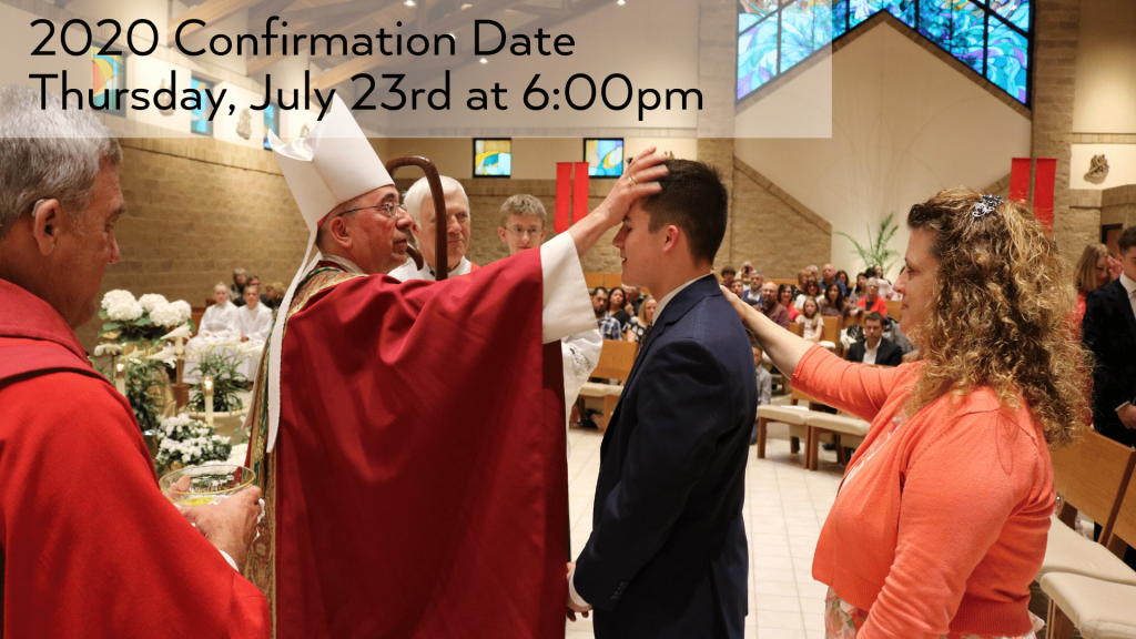 Confirmation 2019 at St. Anthony on the Lake