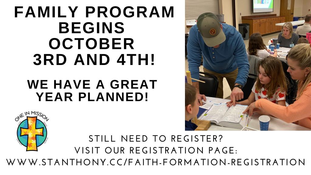 Family Program Registration