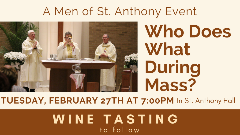 Men of St. Anthony Event at St. Anthony on the Lake