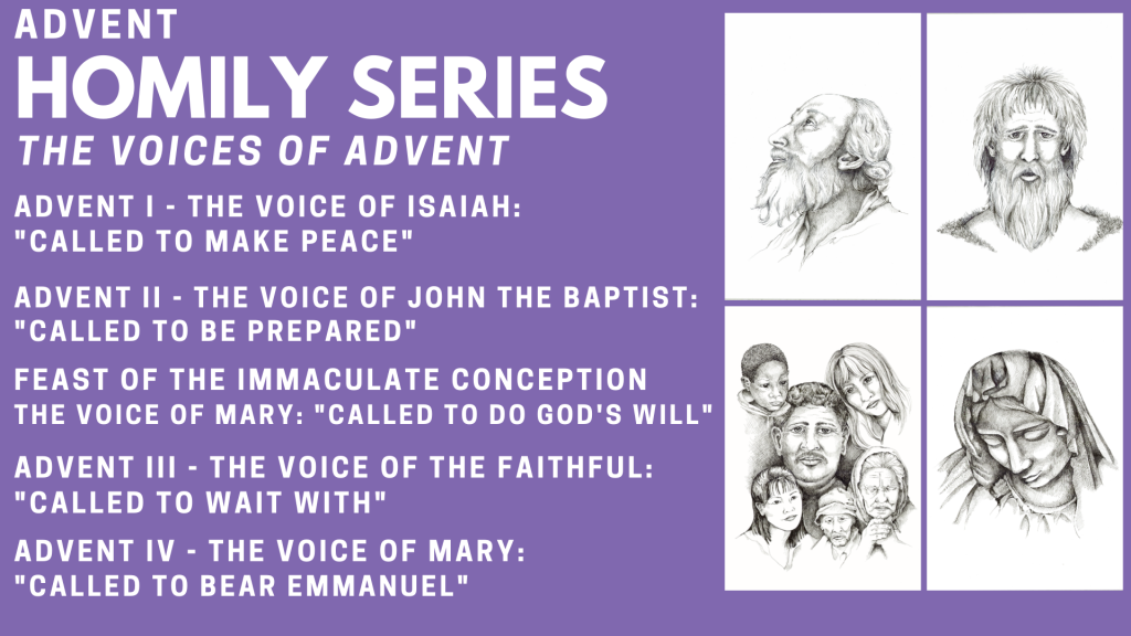 Advent Homily Series St. Anthony on the Lake