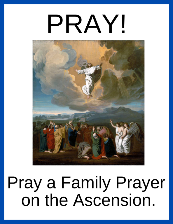 Pray a Family Prayer on the Ascension