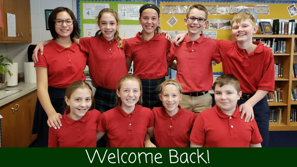 Welcome Back St. Anthony on the Lake School