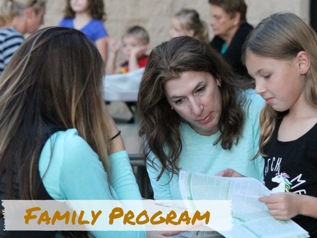 Family Program Registration at St. Anthony on the Lake