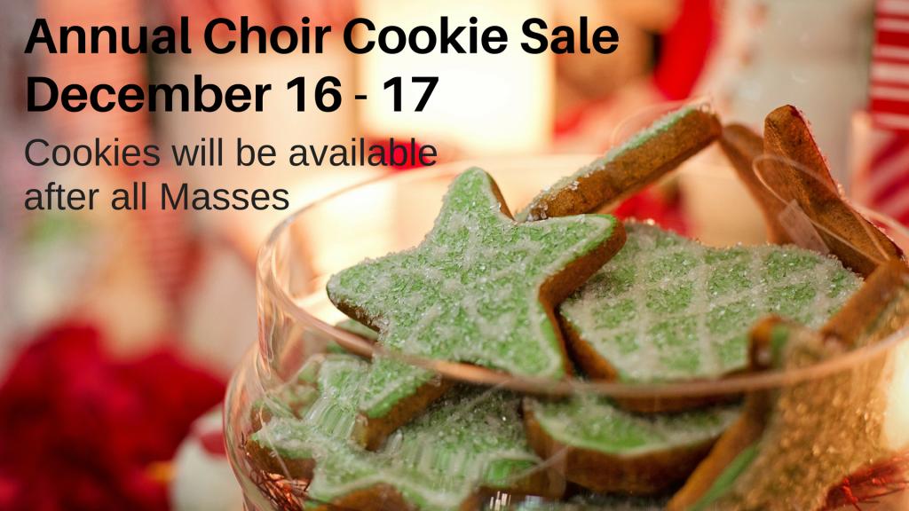 Choir Cookie Sale