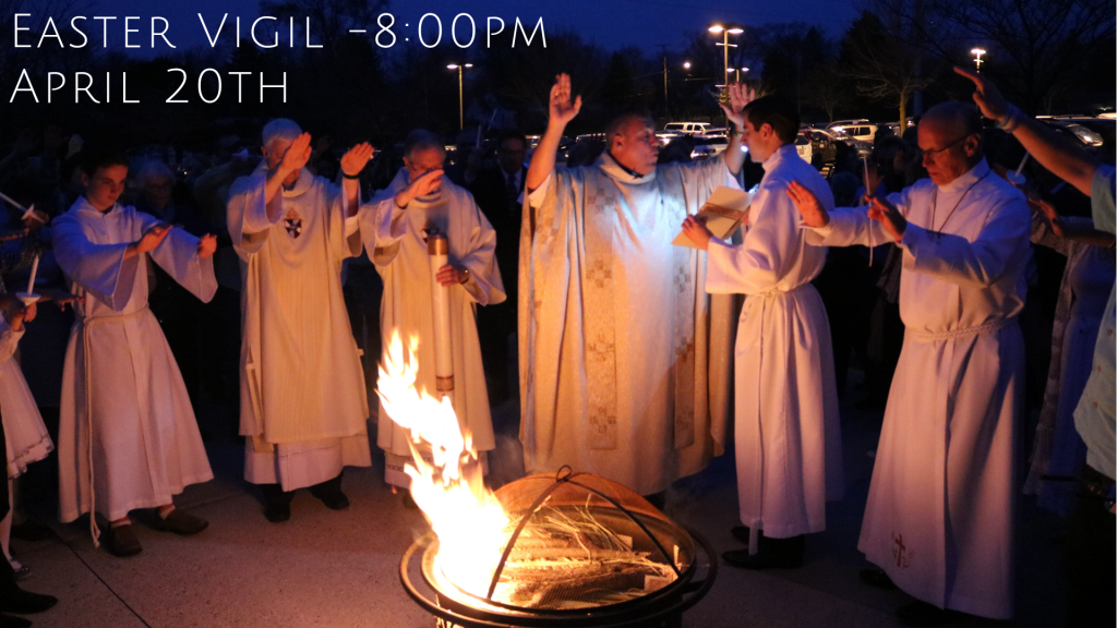 Easter Vigil at St. Anthony on the Lake