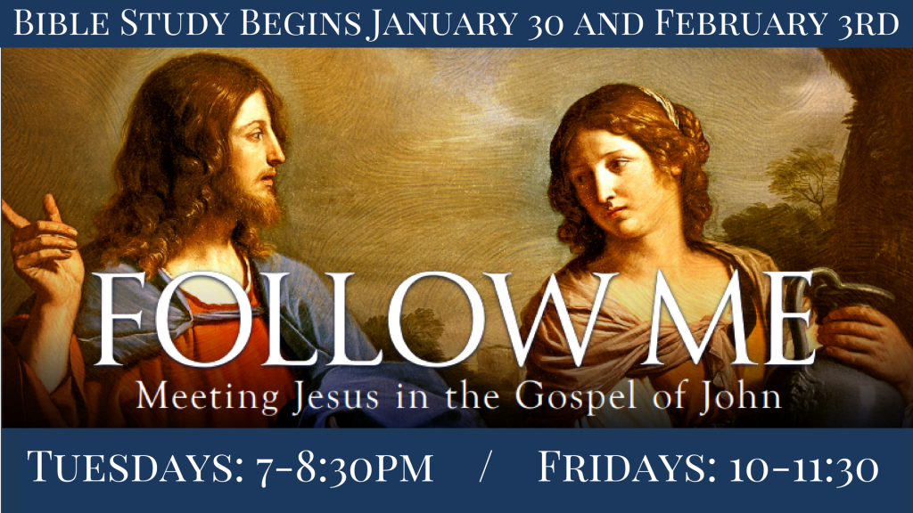 Follow Me Bible Study at St. Anthony on the Lake