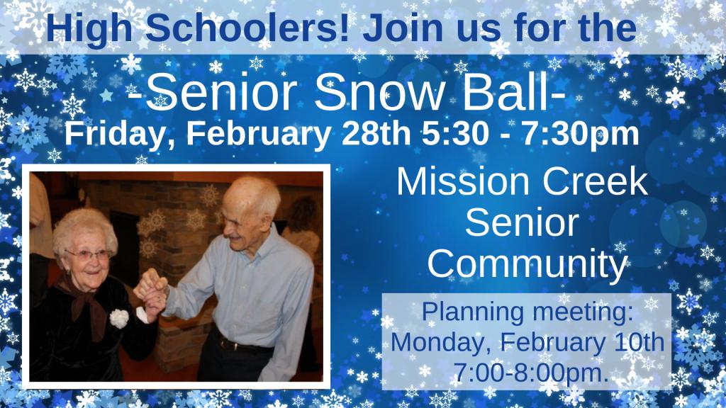 Senior Snow Ball