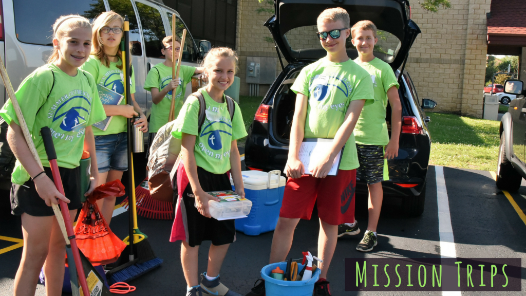 Mission Trips for Middle School