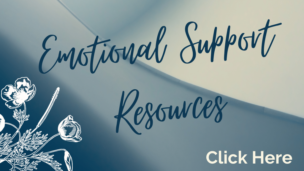 Emotional Support Resources