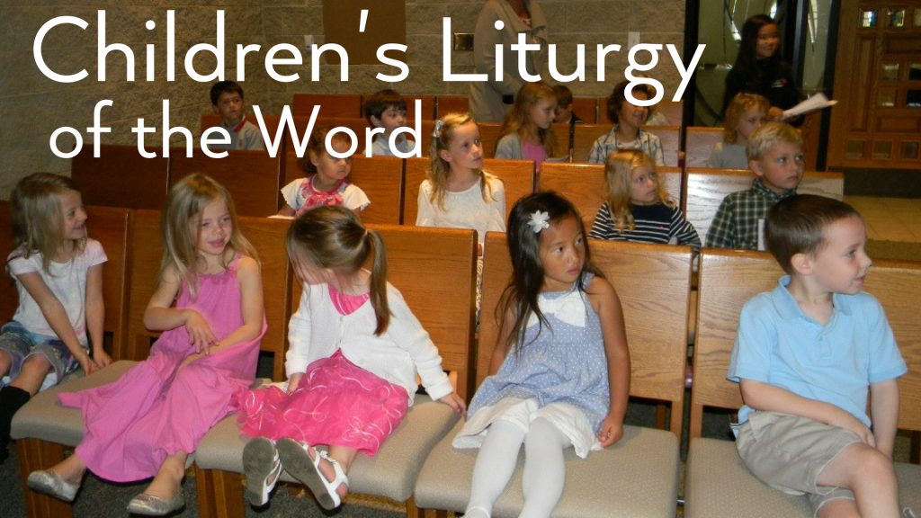Children's Liturgy of the Word at St. Anthony on the Lake