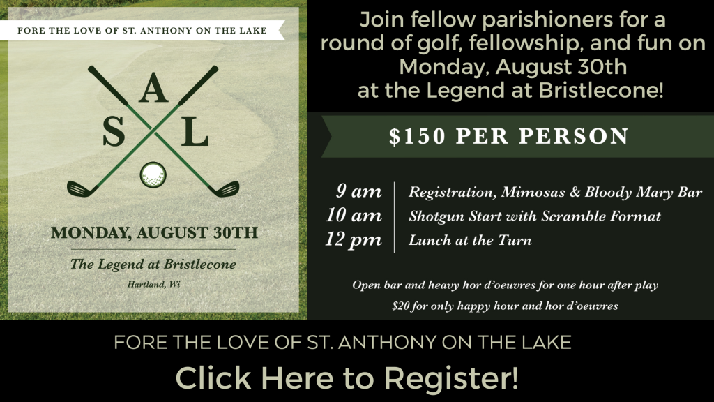 St. Anthony on the Lake Golf Outing
