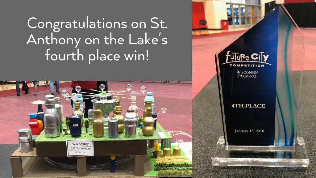 St. Anthony on the Lake wins 4th place at Future City
