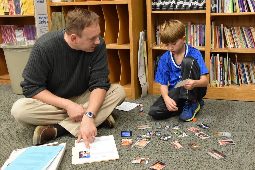 Learning Centers during LaPetite Family Program
