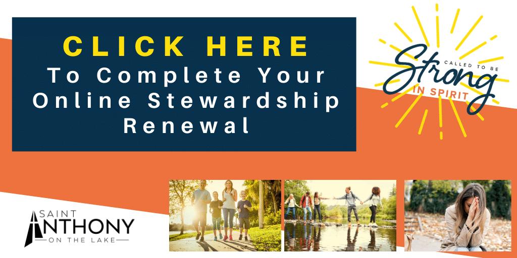Stewardship Renewal at St. Anthony on the Lake