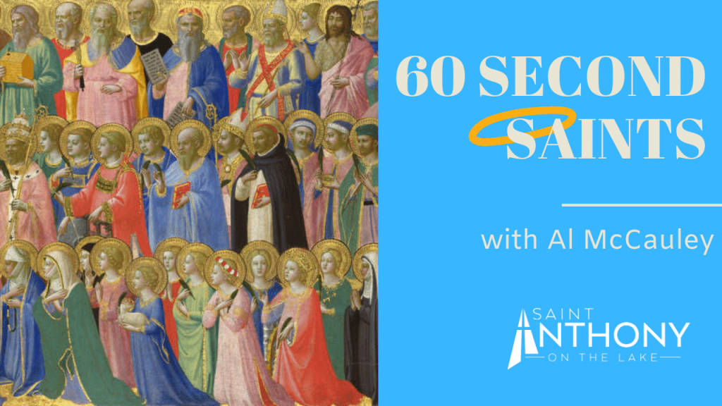 60 Second Saints with Al McCauley