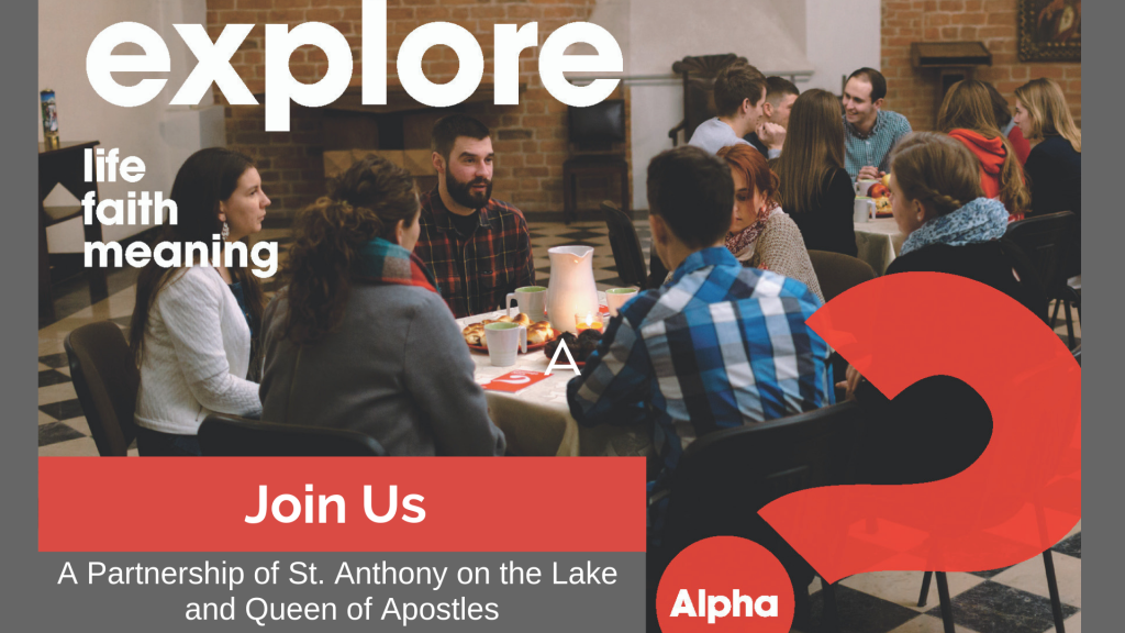 Alpha at St. Anthony on the Lake
