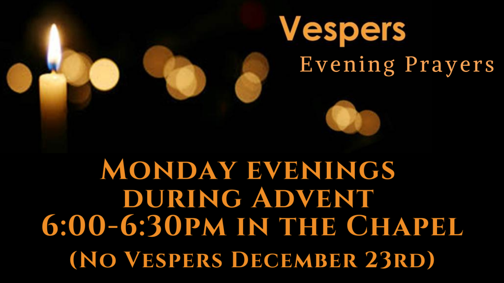 Vespers at St. Anthony on the Lake