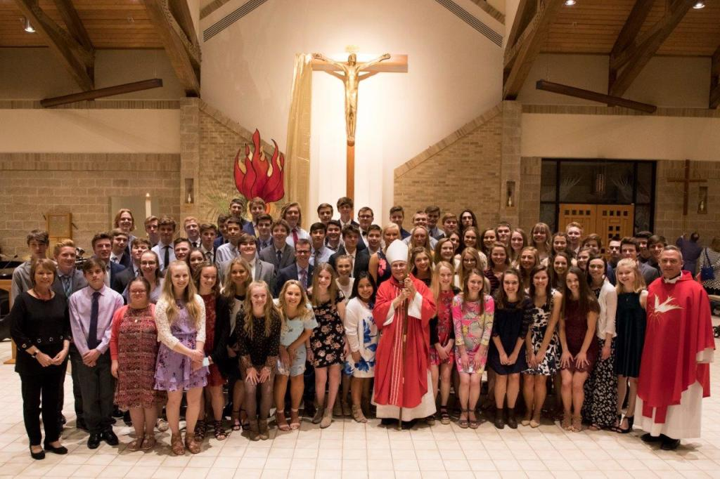 Confirmation at St. Anthony on the Lake