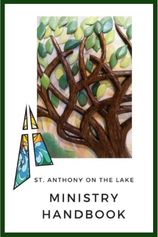 Ministry Handbook St. Anthony on the Lake Stewardship Renewal