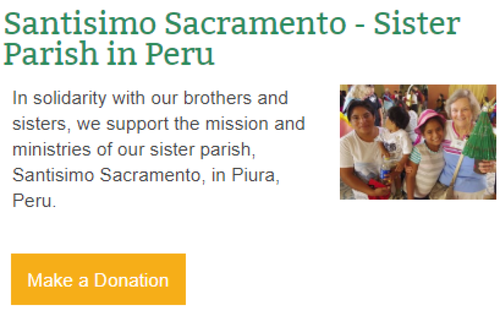 Donate to Santisimo Sacramento St. Anthony on the Lake