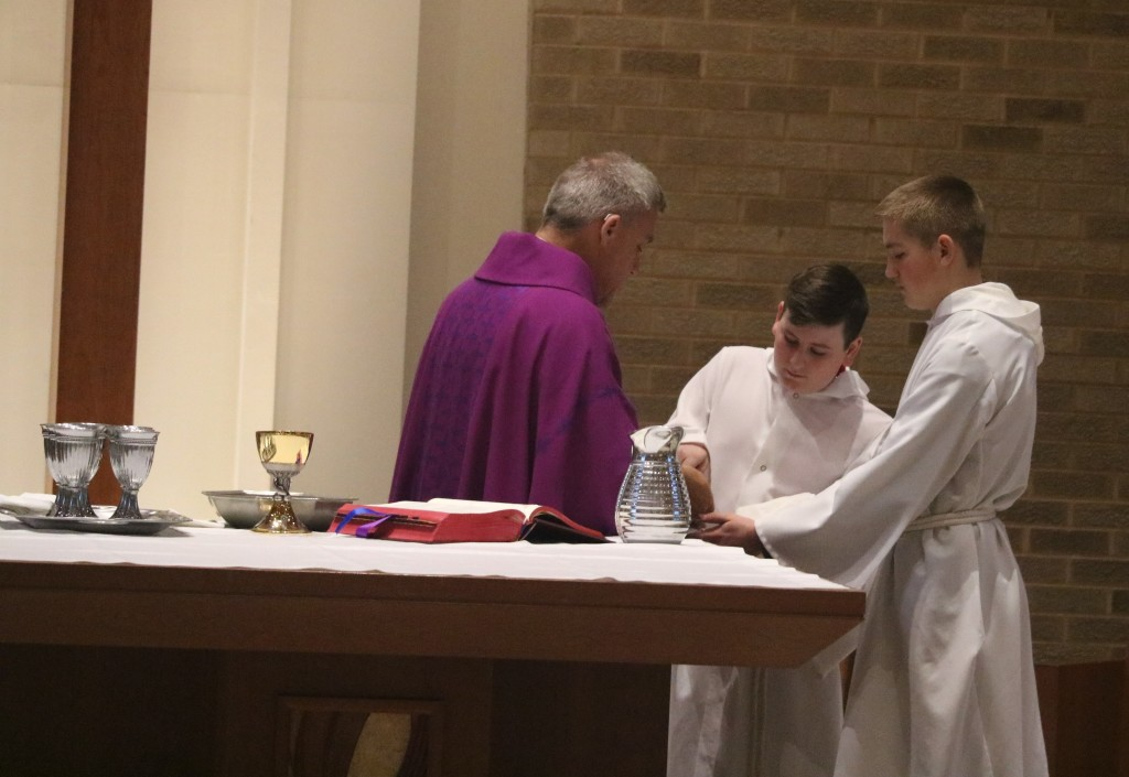 Altar Servers at St. Anthony on the Lake