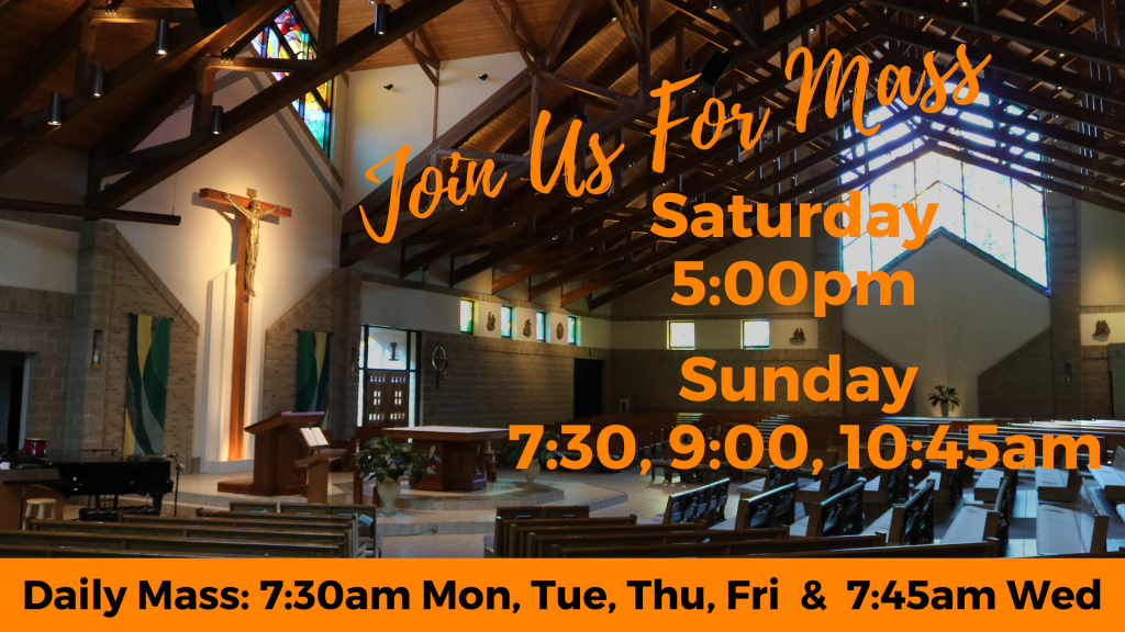 Join us for Mass St. Anthony on the Lake